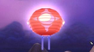 Lanterne de fête de la Horde