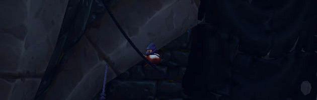 Pépé Ninja caché dans le domaine de classe du Voleur