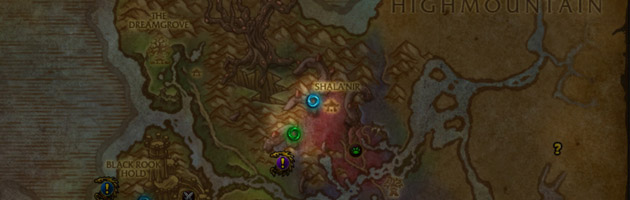 Retrouvez directement sur la map l'emplacement des raids et donjons