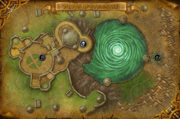 La carte du Puits d'Eternité