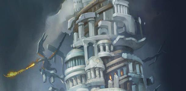 L'Âme des dragons se déroule au sein du Temple du repos du ver