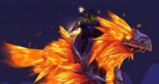 Serres-de-Flammes d'Alysrazor - Monture World of Warcraft