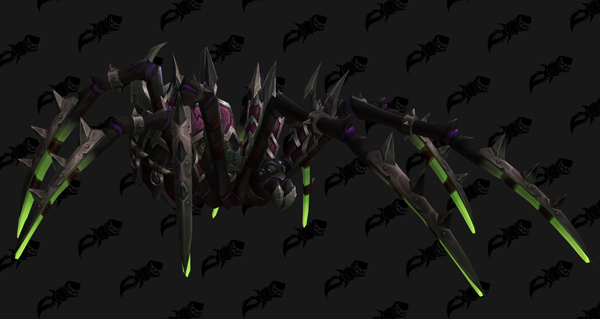 Araignée de guerre vicieuse - Monture World of Warcraft