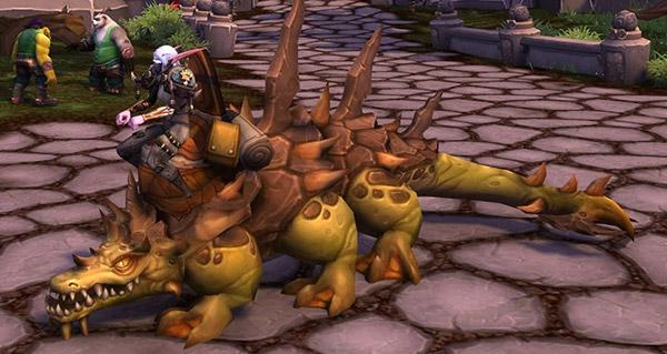 Basilic balèze de bastonneur - Monture World of Warcraft