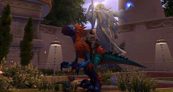 Bec-sinistre brillant - Monture World of Warcraft