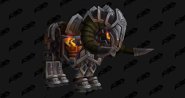Bélier sombreforge - Monture World of Warcraft