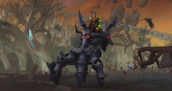 Bracelet de Salaranga - Monture World of Warcraft