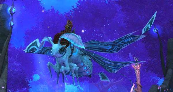 Bruissaile éclatante - Monture World of Warcraft