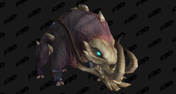 Céphalochère de l'Ostéoclaste - Monture World of Warcraft