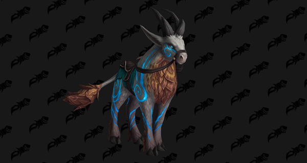 Cerf runique des frimas - Monture World of Warcraft