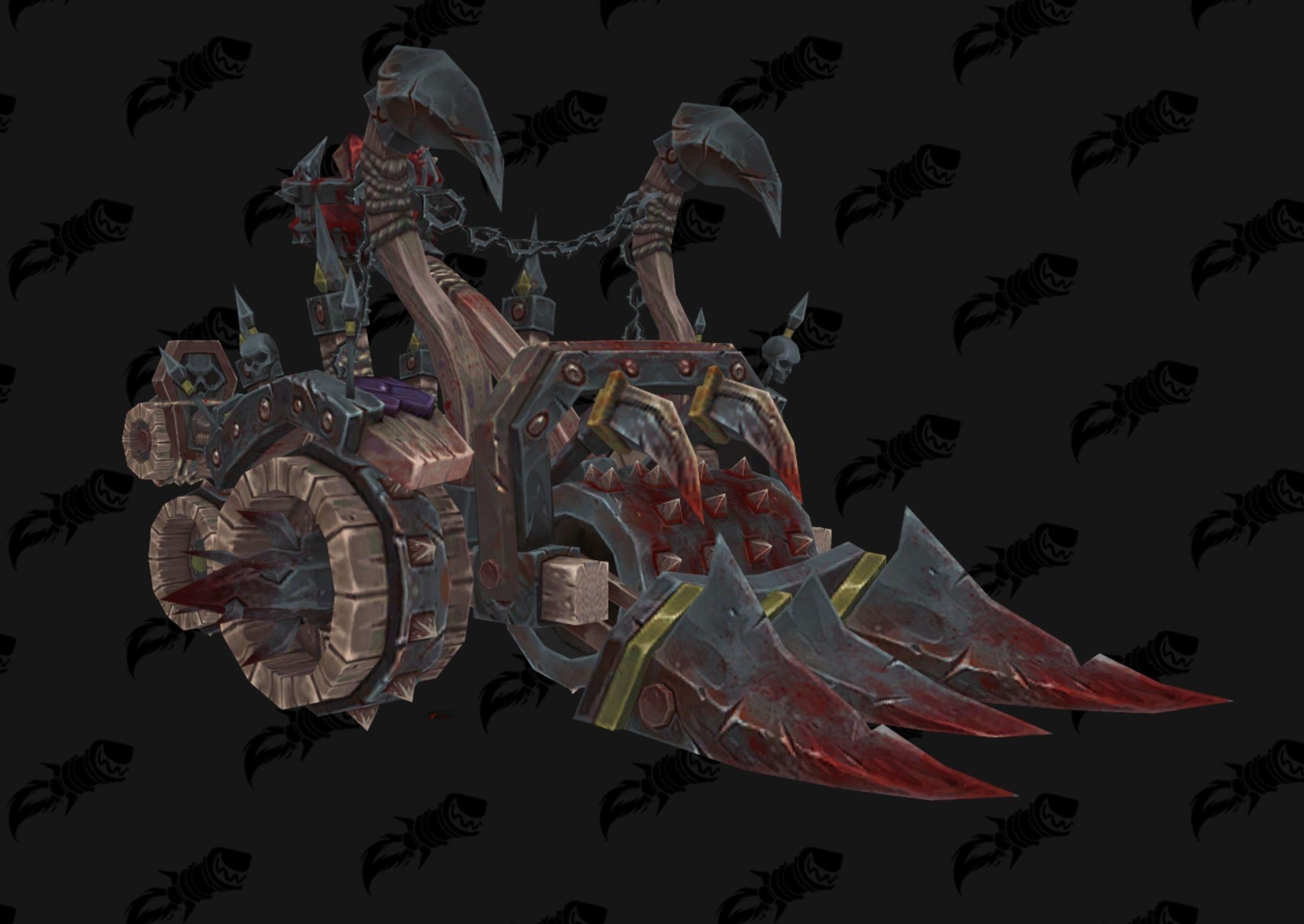 Chariot à viande est une monture promotionelle de World of Warcraft