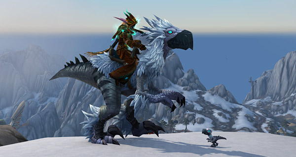 Chasseur plume-neige - Monture World of Warcraft