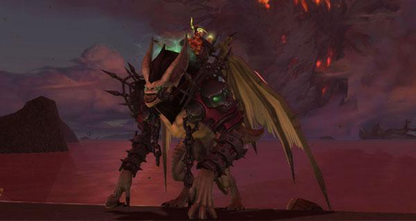Rênes de chauve-souris pestiférée de Fossoyeuse - Monture World of Warcraft