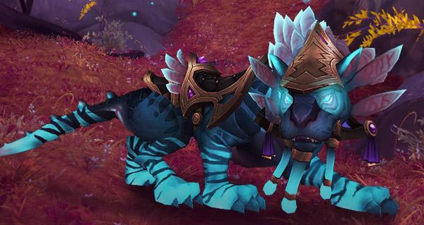 Cherchétoile lumineux - Monture World of Warcraft