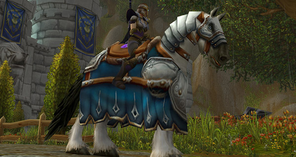 Cheval de guerre - Monture World of Warcraft