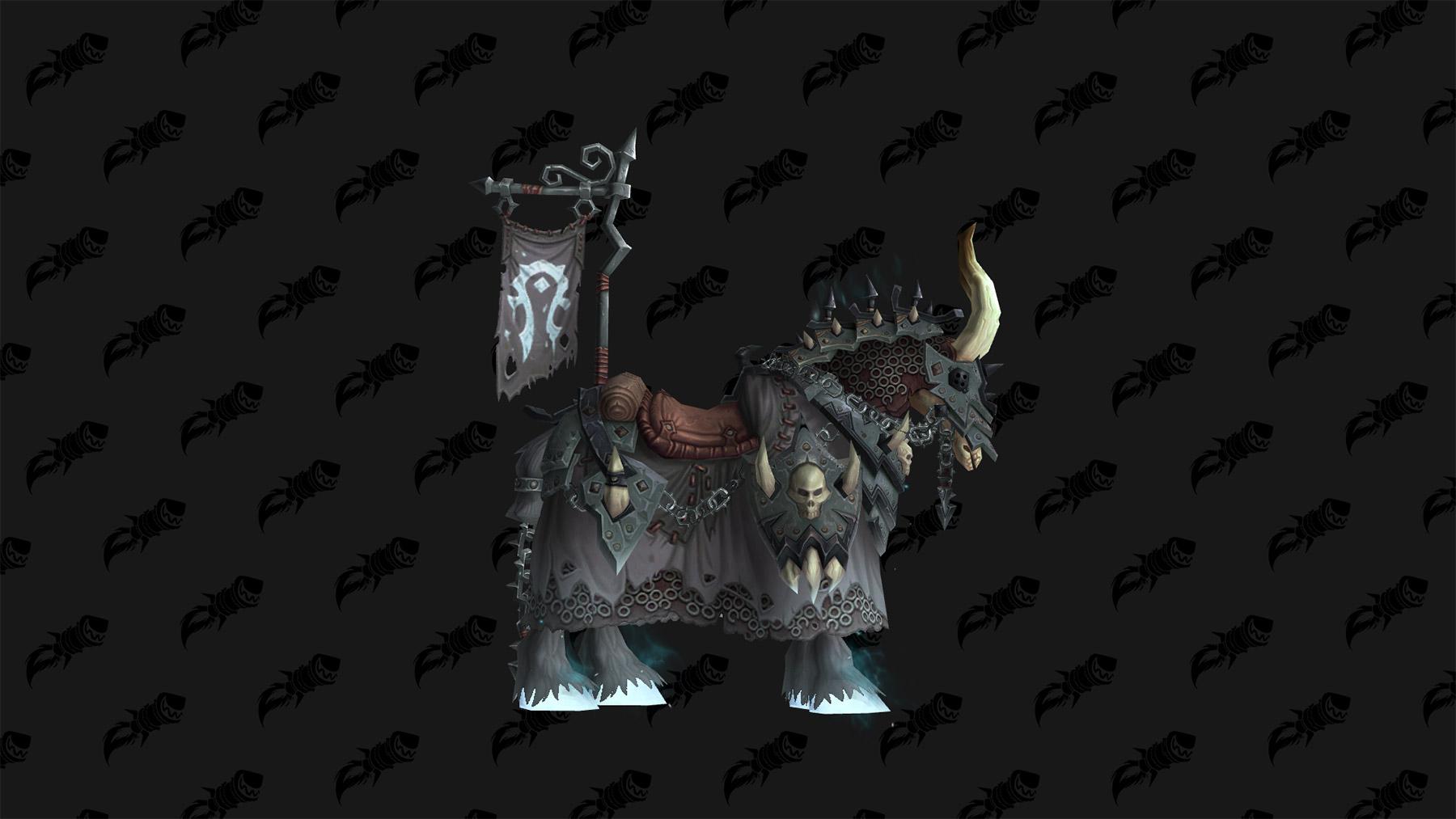 Cheval d'os blanc vicieux, monture du patch 8.3
