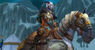 Cheval de guerre d'argent - Monture World of Warcraft