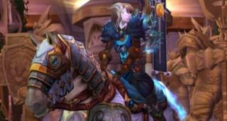 Cheval de guerre blanc de croisé - Monture World of Warcraft