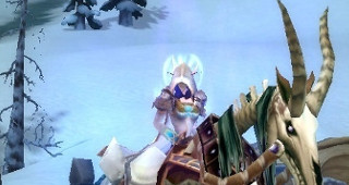 Cheval de guerre squelette blanc - Monture World of Warcraft