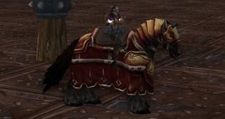 Cheval de guerre thalassien - Monture World of Warcraft