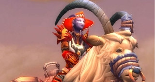 Rênes de chèvre de monte blanche - Monture World of Warcraft