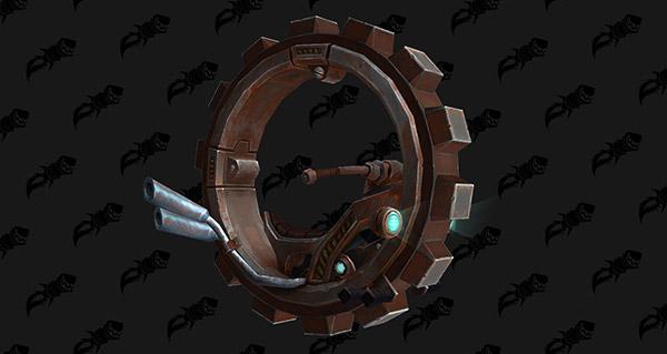 Clés rouillées du dériveur de la Décharge - Monture World of Warcraft