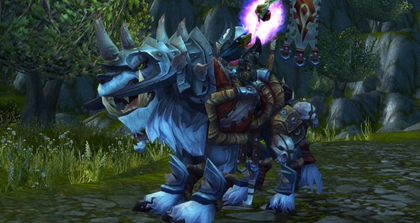 Cor du loup de guerre vicieux - Monture World of Warcraft