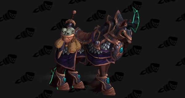 Coursier des forêts prestigieux - Monture World of Warcraft