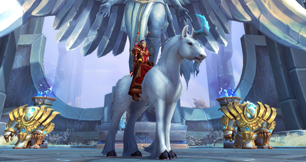 Crin-de-Ciel transcendé - Monture World of Warcraft