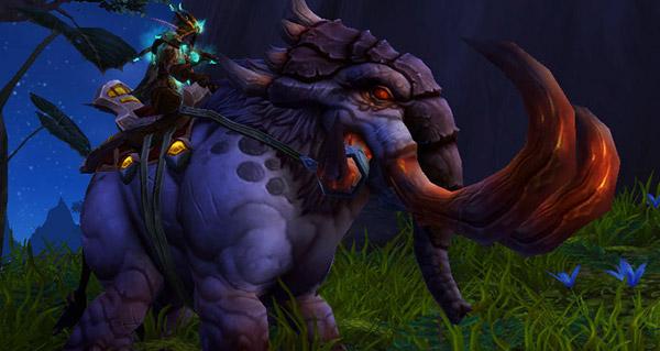 Défense-de-Fer de seigneur des bêtes - Monture World of Warcraft