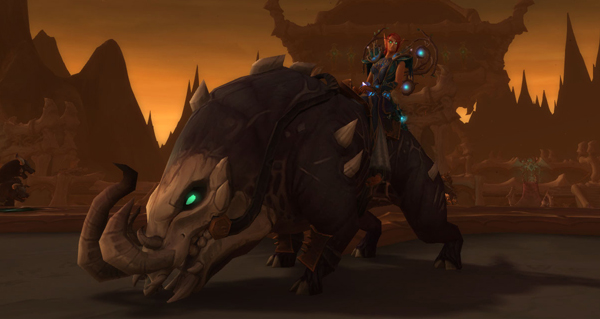 Défenses-de-sang cloquéchine - Monture World of Warcraft