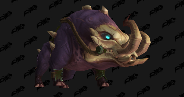 Défenses-de-sang macabre - Monture World of Warcraft
