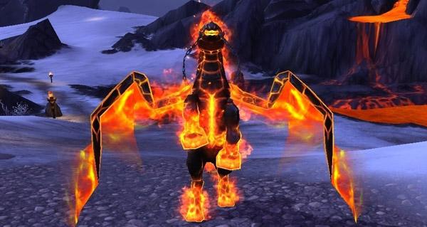 Destrier cendrecrin - Monture World of Warcraft