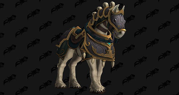 Destrier de Kul Tiras - Monture World of Warcraft