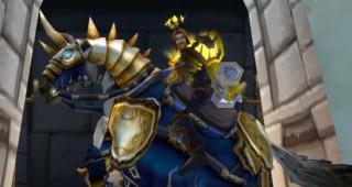 Destrier - Monture World of Warcraft