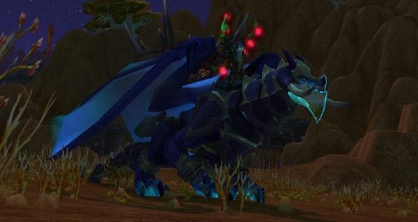 Dragon des tempêtes du gladiateur cruel monture WoW Legion