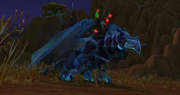 Dragon des tempêtes du gladiateur intrépide monture WoW Legion