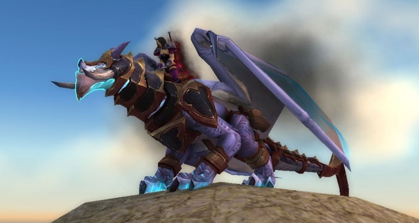 Dragon des tempêtes du gladiateur opiniâtre - Monture World of Warcraft