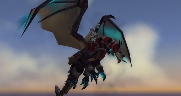 Dragon des tempêtes du gladiateur vindicatif - Monture World of Warcraft