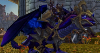 Drake du crépuscule du gladiateur vicieux - Monture World of Warcraft