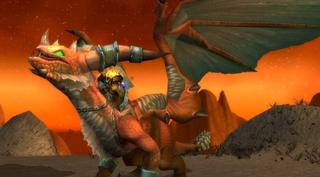 Rênes de drake flamboyant monture WoW Cataclysm