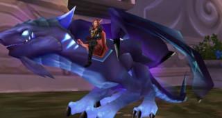 Rênes de drake de l'Aile-du-Néant cobalt - Monture World of Warcraft