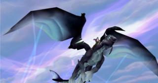 Rênes de drake de l'Aile-du-Néant onyx - Monture World of Warcraft