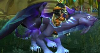 Rênes de drake de l'Aile-du-Néant violet - Monture World of Warcraft
