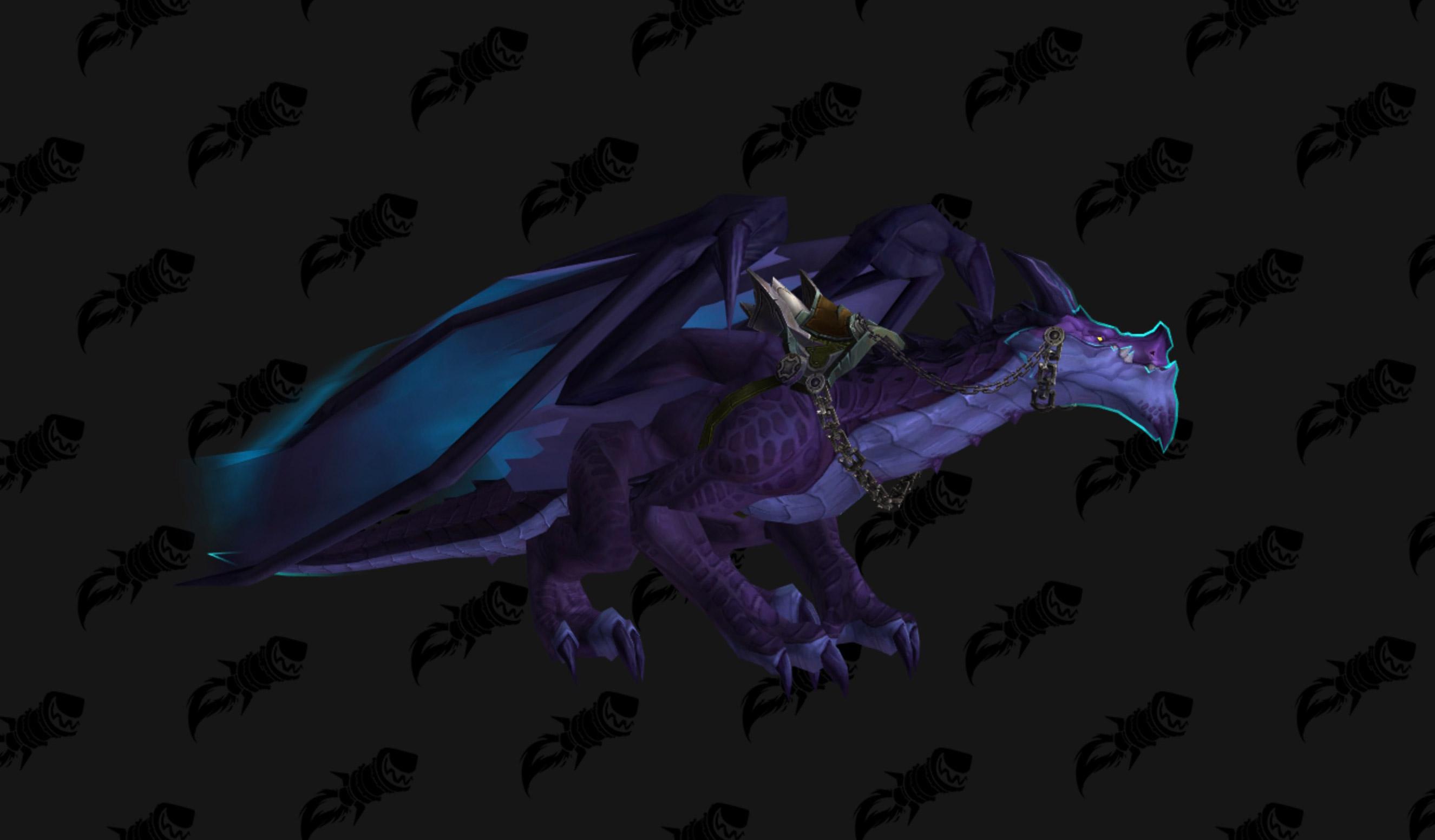 Le dragon Écailles-de-tonnerre insulaire est une nouvelle monture du patch 8.1