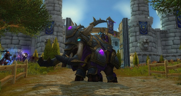 Elekk de guerre vicieux - Monture World of Warcraft
