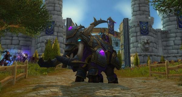 Elekk de guerre vicieux - Monture World of Warcraft
