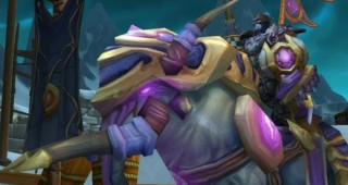 Elekk de l'Exodar monture WoW Wrath of the Lich King