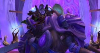 Grand elekk violet - Monture World of Warcraft