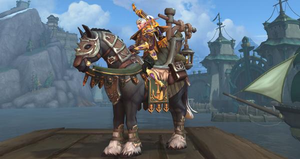 Étalon crin-de-mer - Monture World of Warcraft